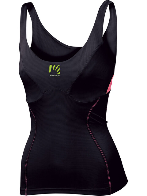 Karpos Fast Top Women Black/Pink Fluo